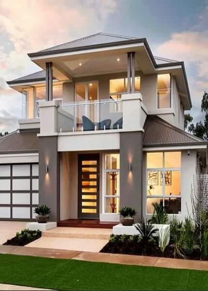 62 Gambar Rumah Minimalis 2 Lantai Modern Terindah dan
