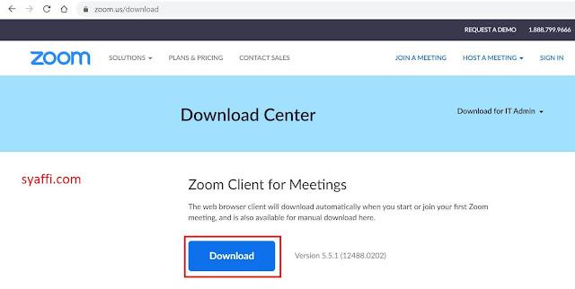 Cara Download Zoom di Laptop dan Menggunakannya