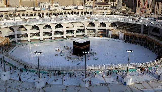 Alhamdulillah, Masjidil Haram Akan Kembali Dibuka Untuk Tawaf dan Shalat Berjamaah
