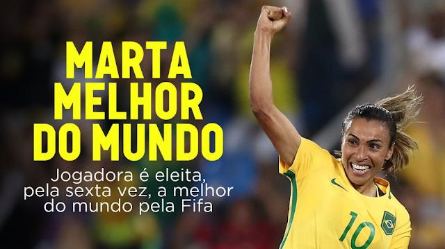 Marta, melhor jogadora do mundo (Foto Reprodução/ @MidiaNINJA)
