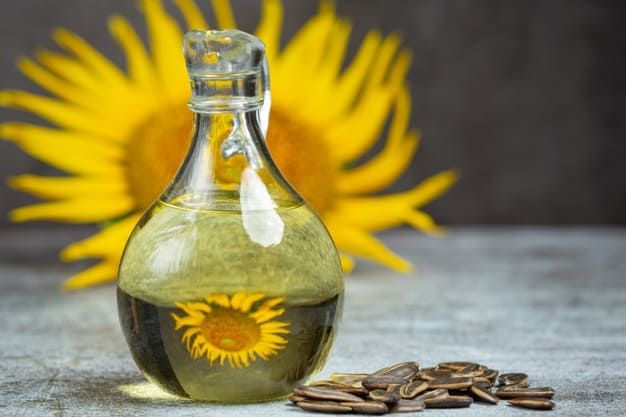 Benefits of sunflower oil for hair and skin