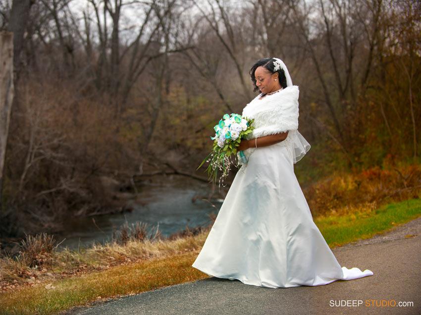 Fall Wedding Dress Warren Valley Golf Club Wedding - SudeepStudio.com Ann Arbor Wedding Photographer