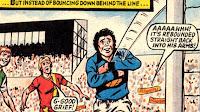 Len Coburn makes a catch (80/81)
