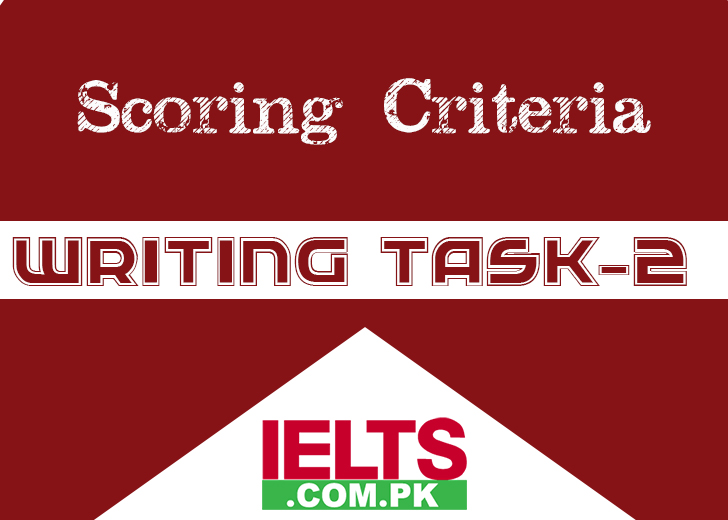 IELTS Academic Writing Task 2 Scoring Criteria