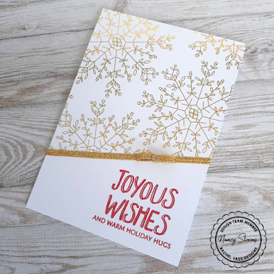 Rachel Vass Designs - Snowflakes Backgrounds
