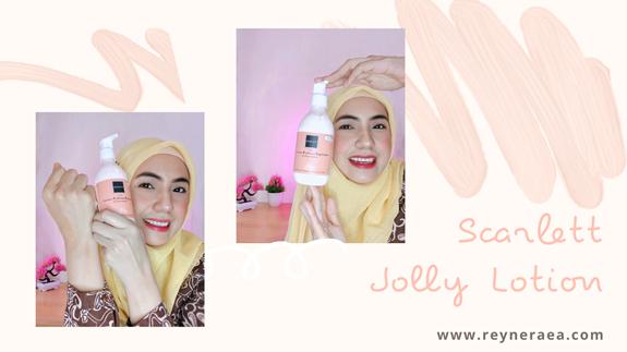 review scarlett jolly lotion
