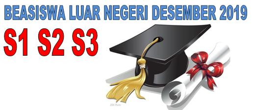 Informasi Beasiswa S1 S2 S3 Luar Negeri Bulan Desember 2019 – Info Beasiswa Terbaru