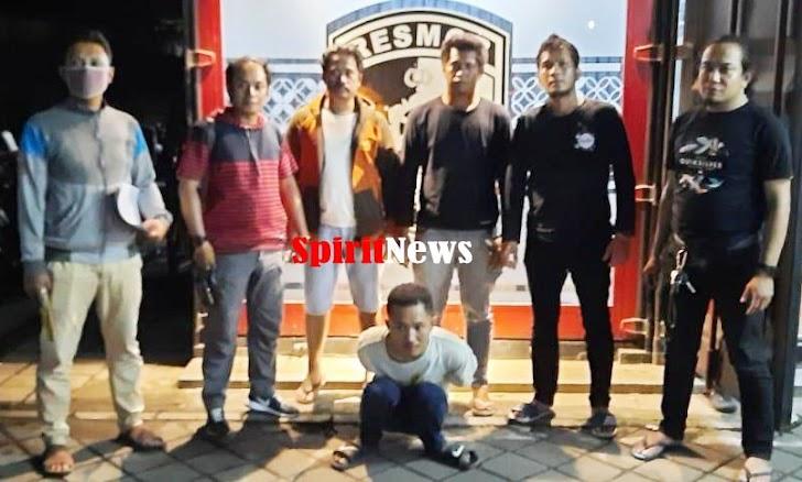 Reskrim Polsek Pattallassang Dibackup Resmob Polda Sulsel,  Menangkap Pelaku Pencurian di RS Maryam Takalar