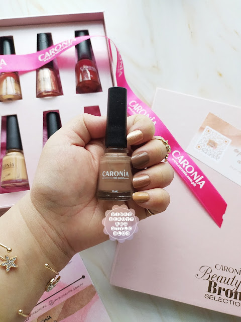 Caronia Beauty and Bronze Selection 2021 - Neutral Nude Nails for Summer
