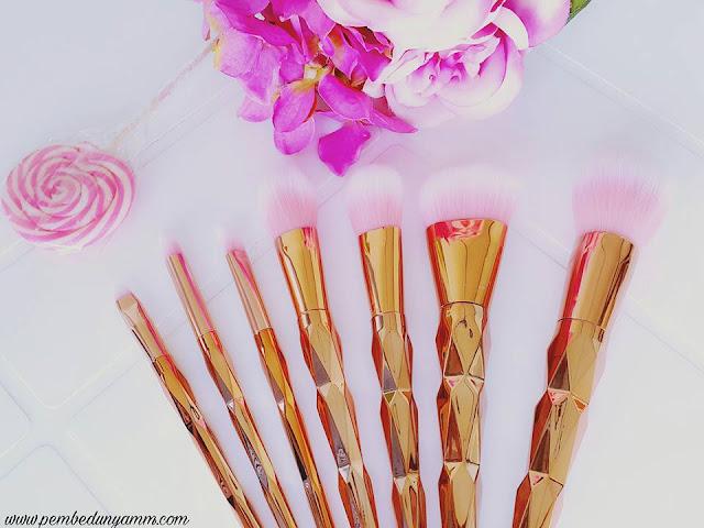 rosel gold makyaj fırçaları