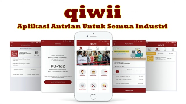 Qiwii, Aplikasi Antrian Online Untuk Semua Industri