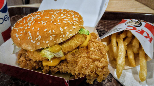 Tidak Mengecewakan Daripada KFC Zinger Cheezilla