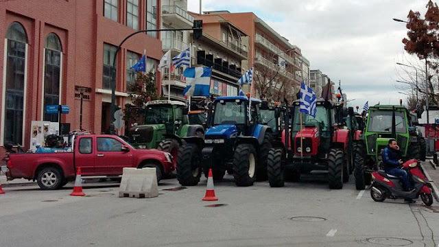 Βγαίνουν το Σαββατοκύριακο τα τρακτέρ στο κέντρο της Αλεξανδρούπολης