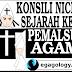 Konsili Nicea,Sejarah kelam pemalsuan agama