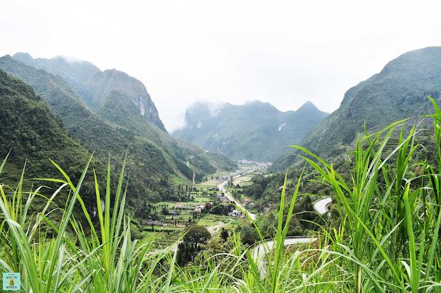 Loop de Ha Giang, Vietnam