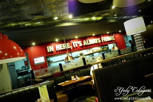 TGIFridays Philippines' Newest Branch at Greenbelt 3 in Makati City