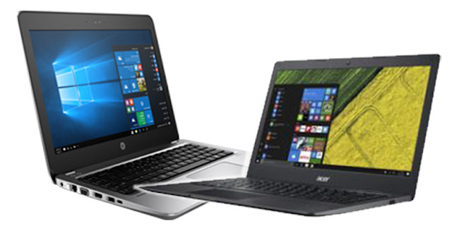 HP ProBook 430 G4 - Acer Swift 1 SF114-31-P5L7