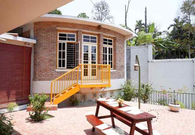 tempat makan bernuansa alam di Medan, Omlandia