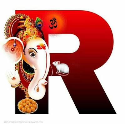 Ganesha-alphabet-R-images-download