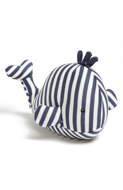 nordstrom jellycat walter whale chime stuffed animal nautical baby shower gift gender neutral