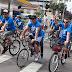 Passeio ciclístico integra famílias na festa por Curitiba
