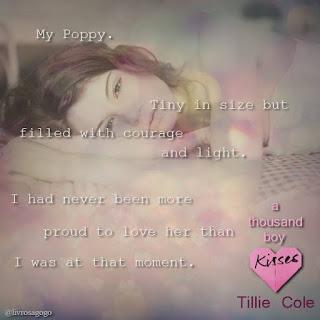 quote do livro A thousand boy kisses - tillie cole