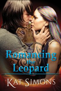 Cover Romancing the Leopard by Kat Simons
