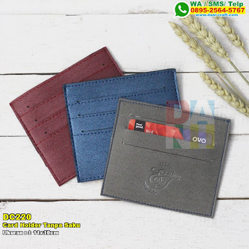 Card Holder Tanpa Saku