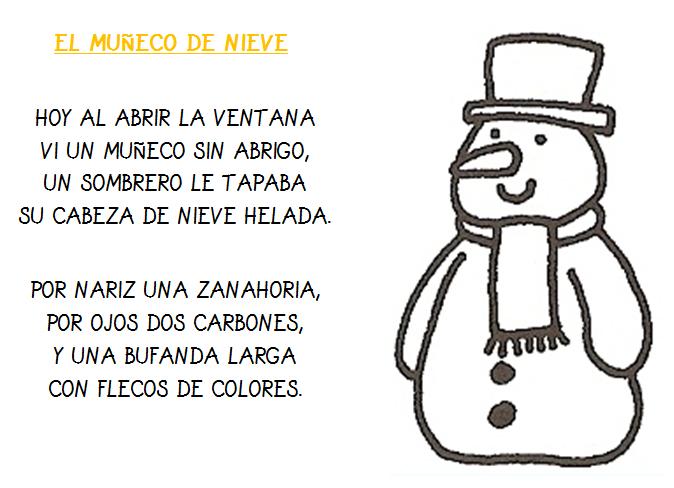 Plastificando Ilusiones Poesia El Muneco De Nieve Una de las cosas más importantes a la hora de elegir el sitio. plastificando ilusiones blogger