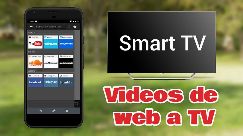 La mejor app para transmitir videos de web a TV