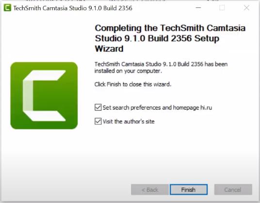 Hướng dẫn cài đặt Camtasia 9.1 nhanh và đơn giản thành công g