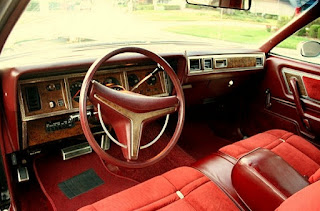 1975 Chrysler Cordoba Cabin Interior