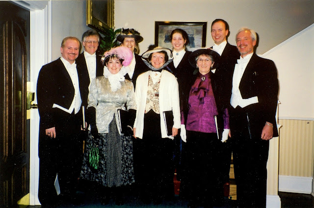 The Stairwell Carollers Victorian Troupe circa 2001