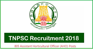 TNPSC Recruitment 2018 – For 805 Posts of Assistant