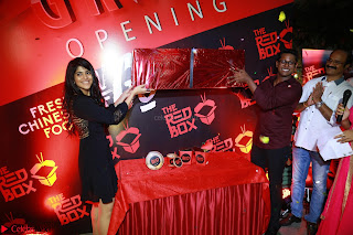 Megha Akash at The launch of The Red Box   Soups and Momos March 2017 003.JPG