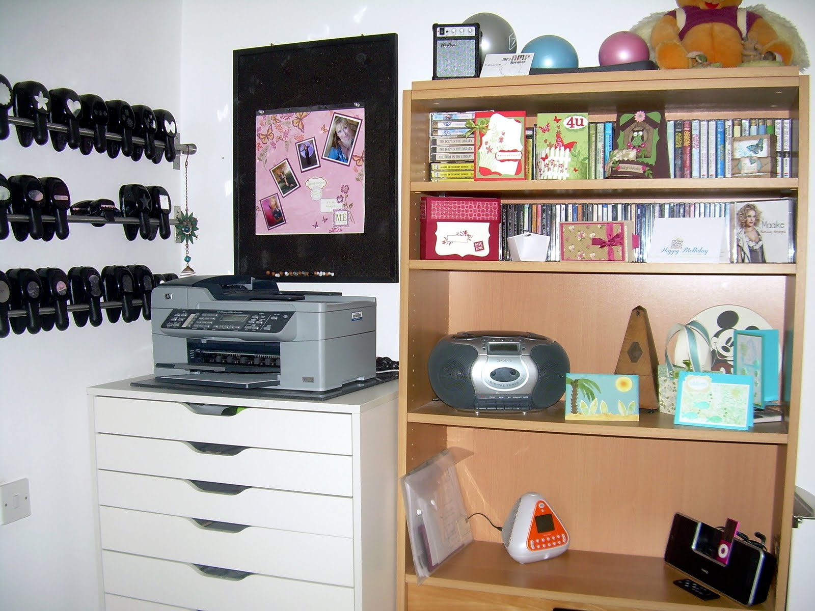 Storage Solutions For Craft Rooms: Fun And Mental Changes: For Donna