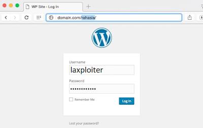 hide wordpress login with plugins