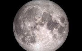 चांद में दाग, क्यों है?
