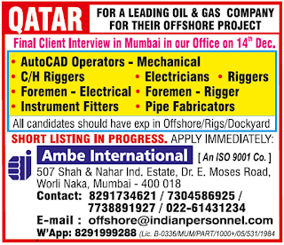 Offshore Project Required for Qatar