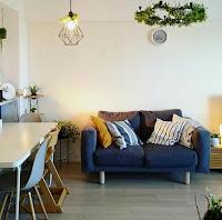 furniture color idea for small apartment decorating idea