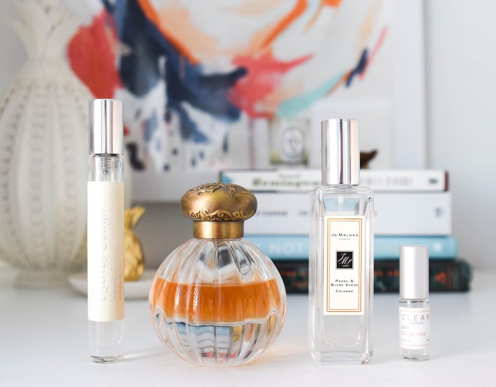 Building A Perfume Wardrobe