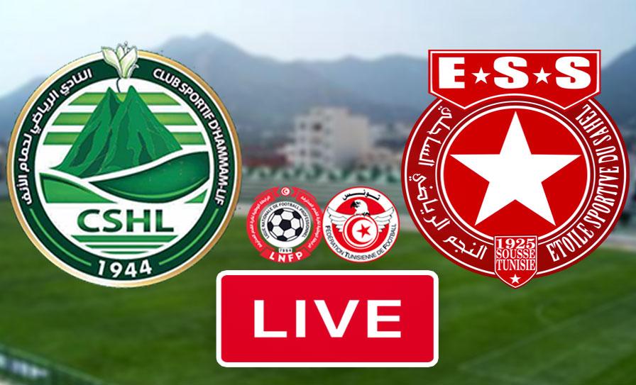 بث مباشر | مشاهدة مباراة نادي حمام الانف و النجم الساحلي في الدوري التونسي - live streaming match tunisie