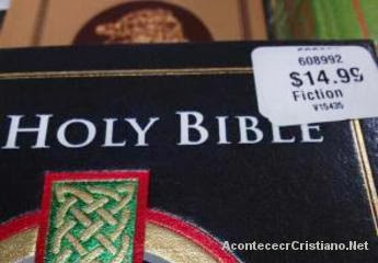 Biblias etiquetadas como libro de ficción