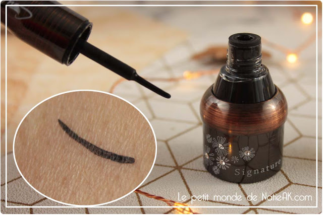 eye liner noir intense naturel Couleur Caramel