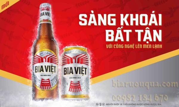 Bia Việt - Sảng khoái bất tận