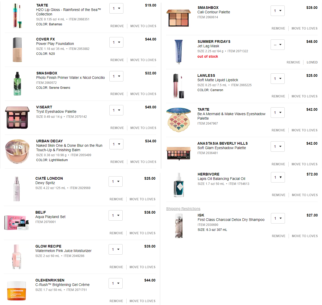 1512c08297176 What s In My Cart
