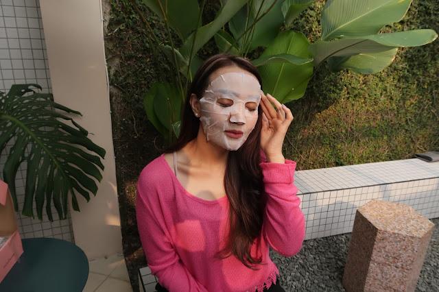 hari menggunakan sheet mask ketika sedang beraktifitas di dalam maupun luar ruangan Ariul 7 Days Mask
