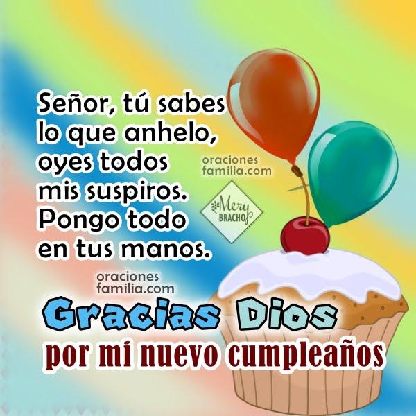 oracion por mi cumpleaños