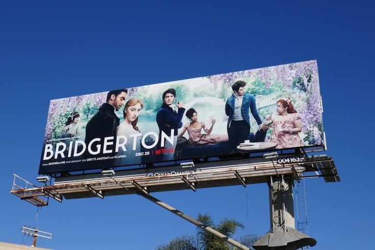 Bridgerton season 1 billboard