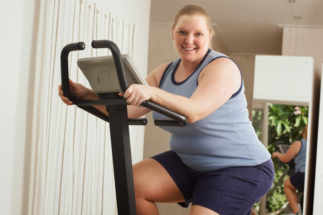 Как сбросить вес с велотренажером